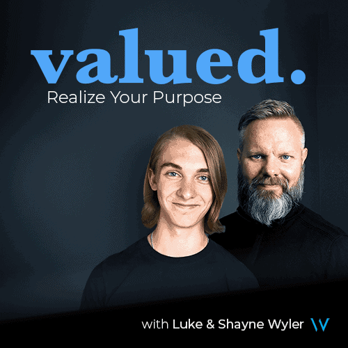 Valued Podcast Promo Image Website